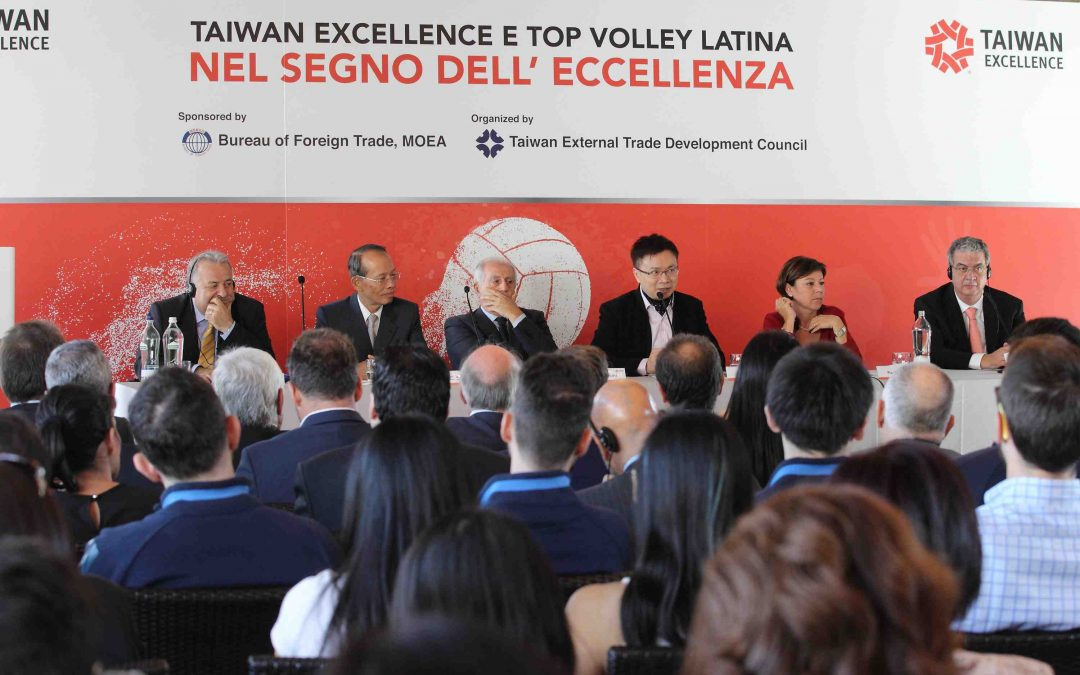 TAIWAN EXCELLENCE E TOP VOLLEY LATINA INSIEME ALL'INSEGNA DELL'ECCELLENZA