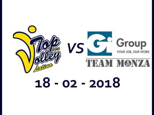 Taiwan Excellence Latina vs Gi Group Monza (18/02/18) Tickets