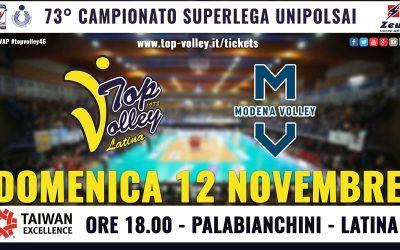 Domenica alle 18 arriva Modena