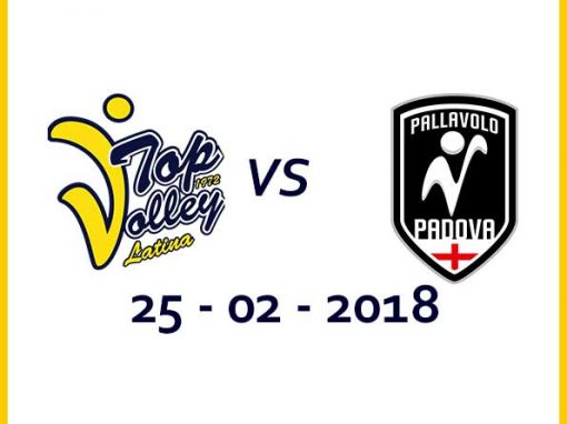 Taiwan Excellence Latina vs Kioene Padova (25/02/18) Tickets
